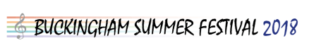 Buckingham Summer Festival 2014 logo